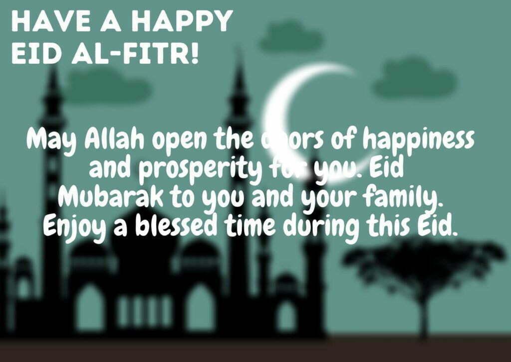 Dark Sky Simple Eid al Fitr Card2